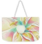 Pastel Flower Weekender Tote Bag