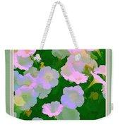 Pastel Flowers II Weekender Tote Bag