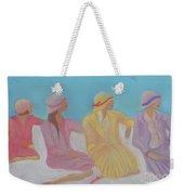 Pastel Hats By Jrr Weekender Tote Bag