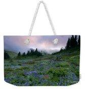 Pastel Mountain Dawn Weekender Tote Bag