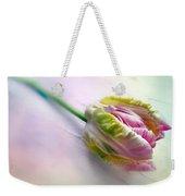 Pastel Parrot Tulip Weekender Tote Bag