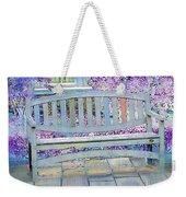 Pastel Patio Weekender Tote Bag