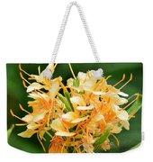 Pastel Peach Petals Weekender Tote Bag