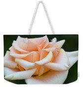 Pastel Peach Rose Weekender Tote Bag