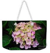 Pastel Pink Hydrangea Weekender Tote Bag