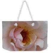 Pastel Pink Rose Weekender Tote Bag