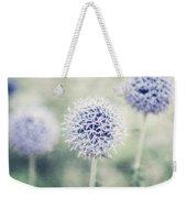 Pastel Purple Allium Bulbs Weekender Tote Bag