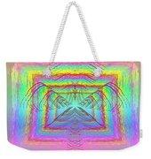 Pastel Rainbow Reverberations Weekender Tote Bag