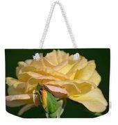 Pastel Rose Ruffles Weekender Tote Bag
