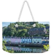 Pastel Rowhome In The Bay Highlands Scotland Weekender Tote Bag