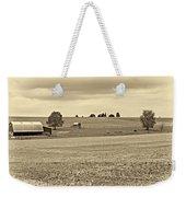Pastoral Pennsylvania Sepia Weekender Tote Bag