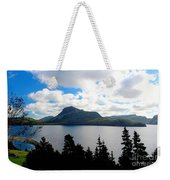 Pastoral Scene By The Ocean Painterly Weekender Tote Bag