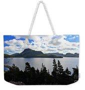 Pastoral Scene By The Ocean Panorama Weekender Tote Bag