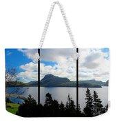 Pastoral Scene By The Ocean Triptych Weekender Tote Bag