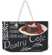 Pastry Cafe Weekender Tote Bag by Debbie DeWitt
