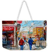 Pastry Shop And Tea Room Weekender Tote Bag