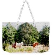Pasture For Three Weekender Tote Bag