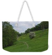 Pasture Land At Ashford-in-the-water Weekender Tote Bag