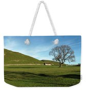 Pasture Land At Thorpe - Derbyshire Weekender Tote Bag