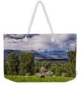 Pastures And Clouds  Weekender Tote Bag