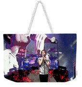 Pat Monahan Of Train Weekender Tote Bag