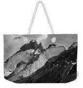 Patagonian Mountains Weekender Tote Bag