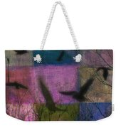 Patched Quilt Weekender Tote Bag