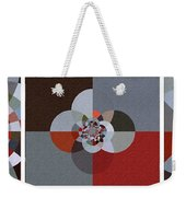 Patchwork Craze - Abstract - Triptych Weekender Tote Bag