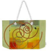 Patchwork I Weekender Tote Bag by Ben and Raisa Gertsberg