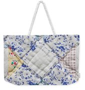 Patchwork Quilt Weekender Tote Bag by Tom Gowanlock