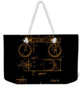 Patent Art 1920 Herzog Hobby Horse Gold Weekender Tote Bag