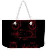 Patent Art 1920 Herzog Hobby Horse Red Weekender Tote Bag