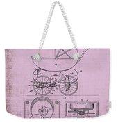 Patent Art Baby Carriage 1920 Lark Invite IIi Weekender Tote Bag