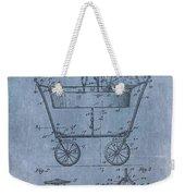 Patent Art Baby Carriage 1922 Mahr Denim Weekender Tote Bag