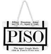 Patent Medicine, C1887 Weekender Tote Bag