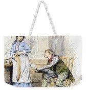 Patent Medicine Salesman Weekender Tote Bag