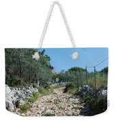 Path Among Olive Trees Weekender Tote Bag