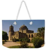 Path In Front Of A Church, Mission San Weekender Tote Bag