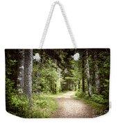 Path In Green Forest Weekender Tote Bag by Elena Elisseeva