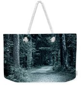 Path In Night Forest Weekender Tote Bag