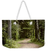 Path In Old Forest Weekender Tote Bag
