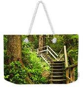 Path In Temperate Rainforest Weekender Tote Bag