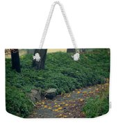 Path In The Forest Weekender Tote Bag