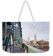 Path On Tyne Bridge Weekender Tote Bag