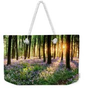 Sunrise Path Through Bluebell Woods Weekender Tote Bag