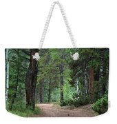 Path Through The Pines - Casper Mountain - Casper Wyoming Weekender Tote Bag
