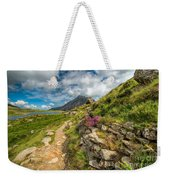 Path To Lake Idwal Weekender Tote Bag by Adrian Evans