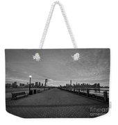 Path To Manhattan Weekender Tote Bag