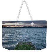 Path To The Bay Weekender Tote Bag