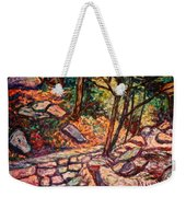 Path To The Cascades Weekender Tote Bag
